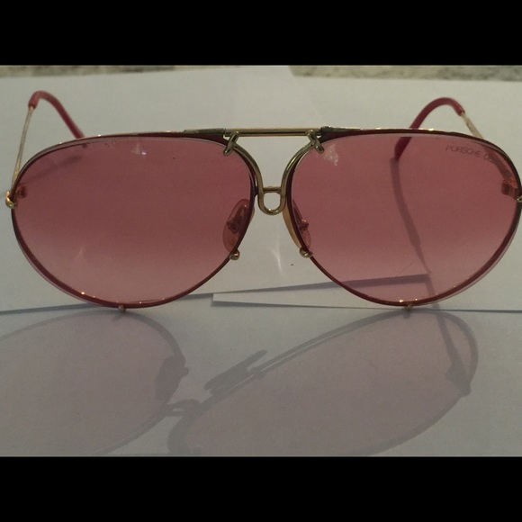 6a23208e2392 Porsche Design Carrera 5623 36 Red & Gold Vintage.  M_5a8b163884b5ce46b2532fea